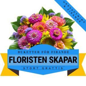 Blombukett för firande och uppvaktning!
